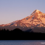 Adam Bacher – Moon over Mt. Hood